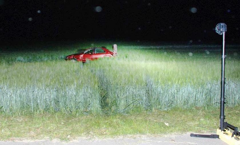Śmiertelny wypadek koło Chojnic.