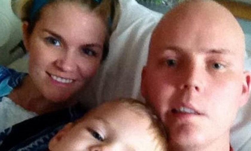 Marshall Jensen Ma białaczkę. Zarazili go HIV