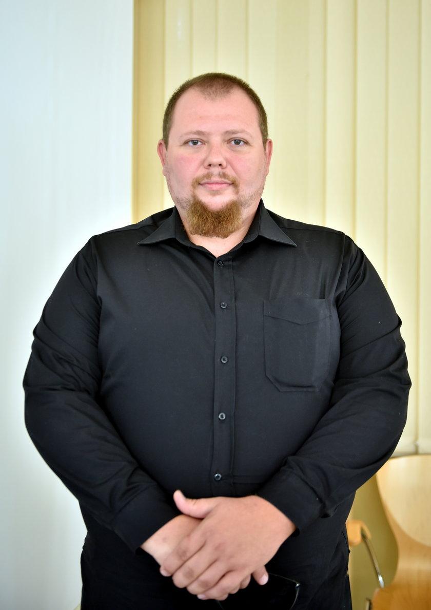 Cezary Kraszewski, kierowca z MPK Łódź, bohater