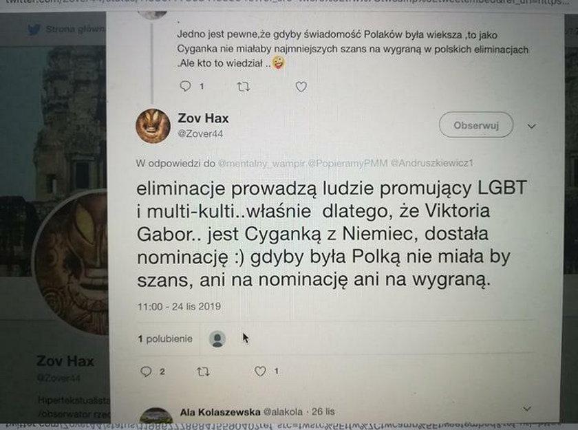 Prokuratura ściga hejterów, którzy obrażali Viki Gabor