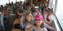 Dzieci z Siemachy popłynęły w rejs