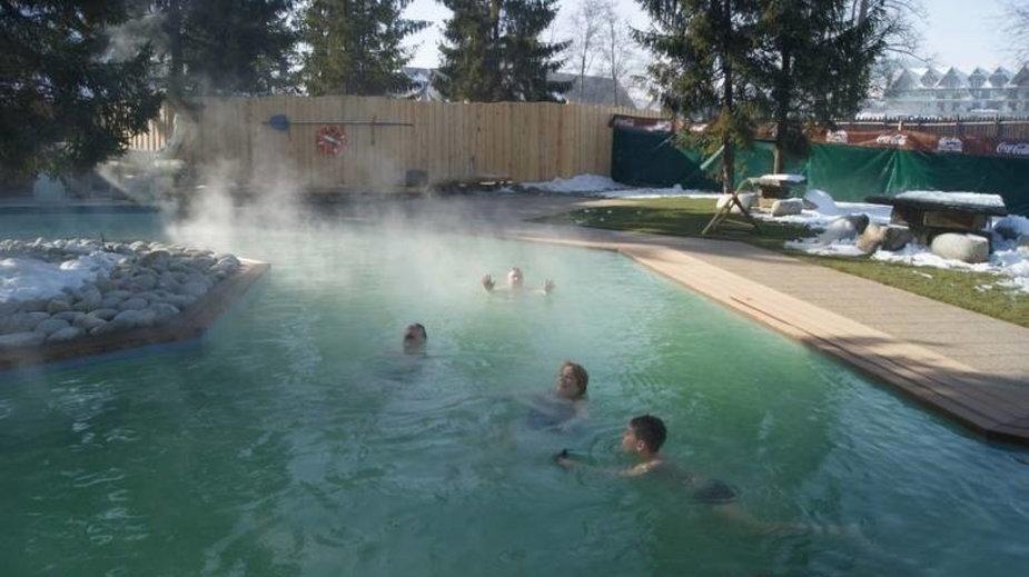 Gorący Potok - kompleks basenów termalnych Podhale