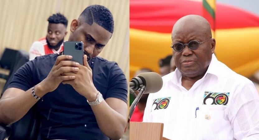 Ibrah One and President Nana Akufo-Addo