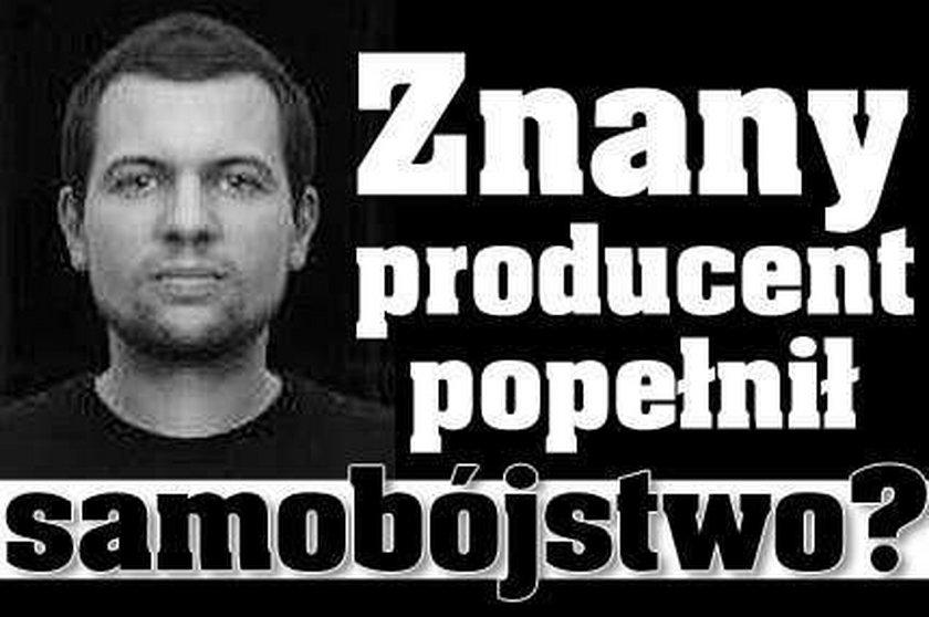 Znany producent popełnił samobójstwo?