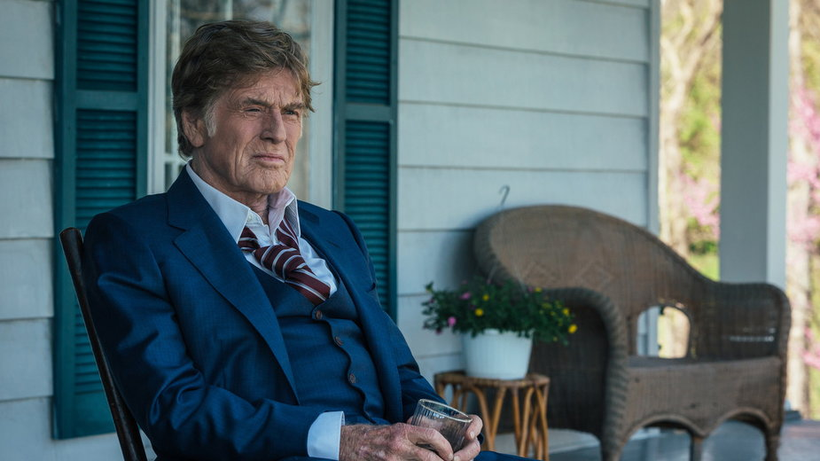 """Robert Redford w filmie """"Gentleman z rewolwerem"""""""