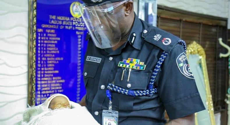 Commissioner of Police (CP), Lagos State, Mr Hakeem Odumosu,. [Twitter/@LagosPoliceng]