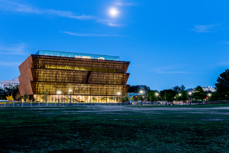 Smithsonian National Museum of African American History & Culture (Waszyngton, USA) - 540 mln dol.