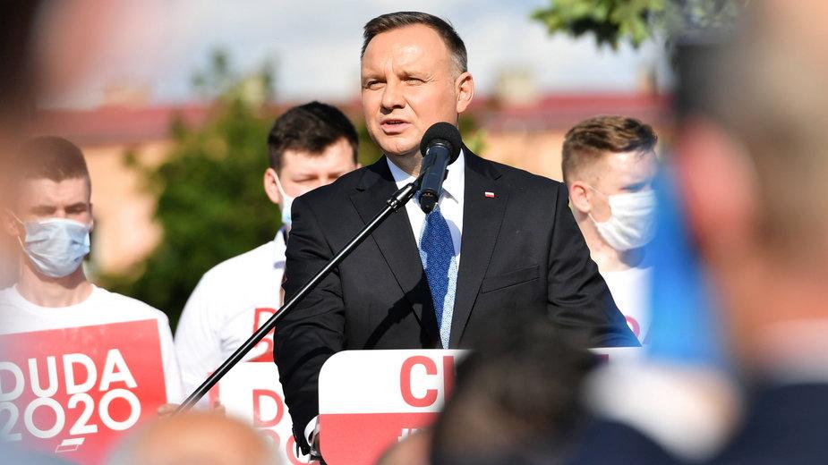 Andrzej Duda w Chełmie