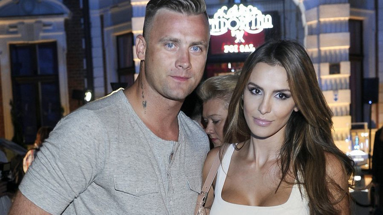 Artur Boruc z żoną Sarą