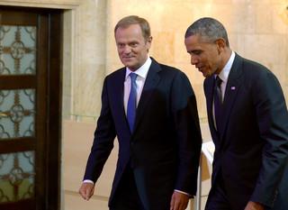 Obama spotkał się z Tuskiem
