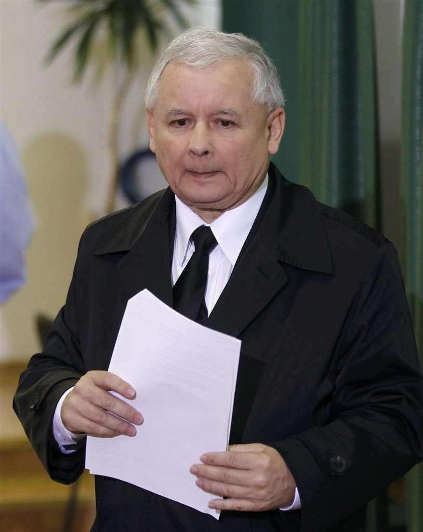 Jarosław Kaczyński, wybory 2011, głosowanie