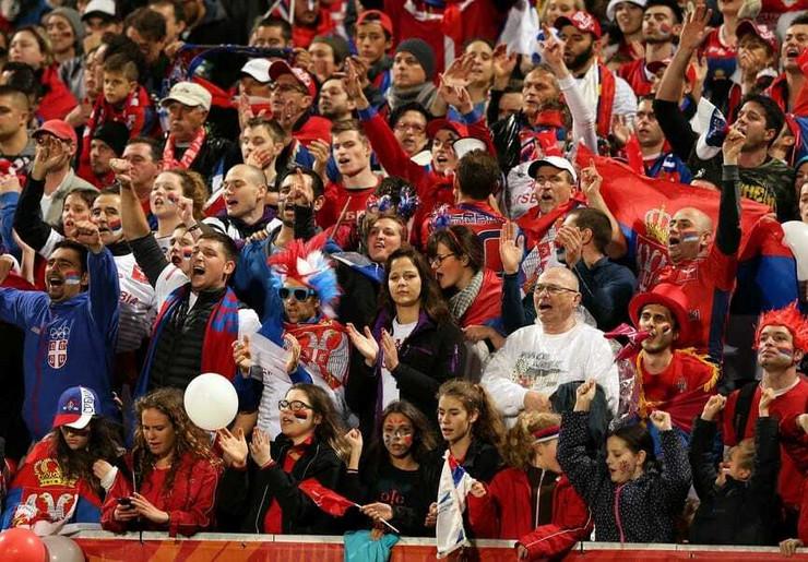 Navijači Fudbalske reprezentacije Srbije