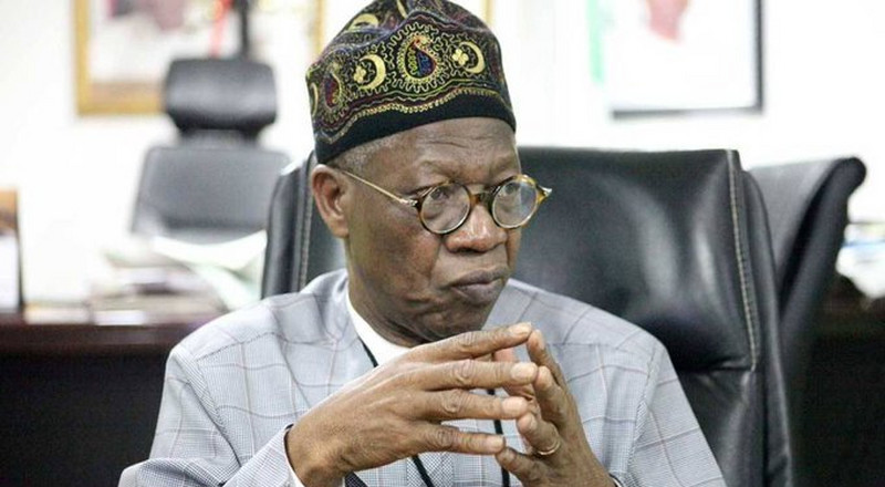 Despite video evidence, Lai Mohammed denies announcing N5m hate speech fine