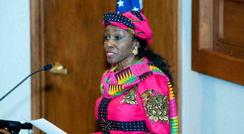 NDP rubbishes reports of Nana Konadu's withdrawal from presidential election
