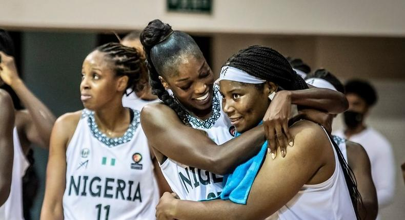 D'Tigress of Nigeria are holding on to their demands to the ministry and NBBF  (Instagram/AfroBasket)