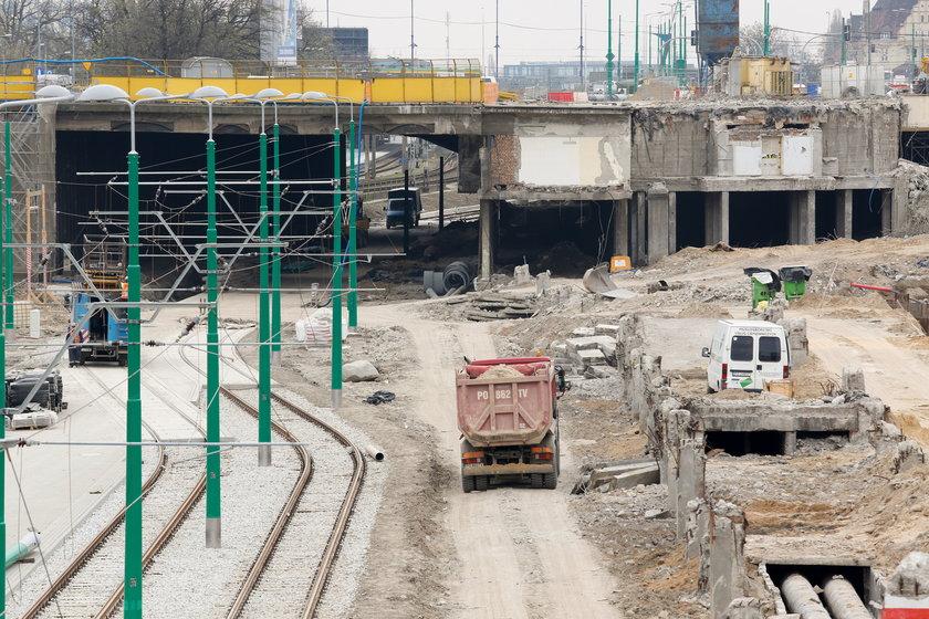 Budowa trasy tramwajowej w Poznaniu