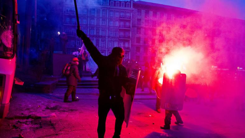 Atak na Automajdan. 18 zatrzymanych, lider przepadł bez wieści