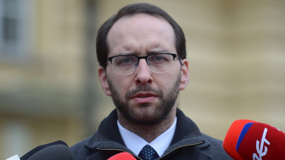 Rzecznik ministra spraw wewnętrznych i administracji, koordynatora służb specjalnych - Stanisław Żaryn