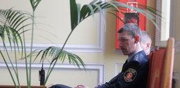 Strażnicy pilnują palmy prezydent Warszawy
