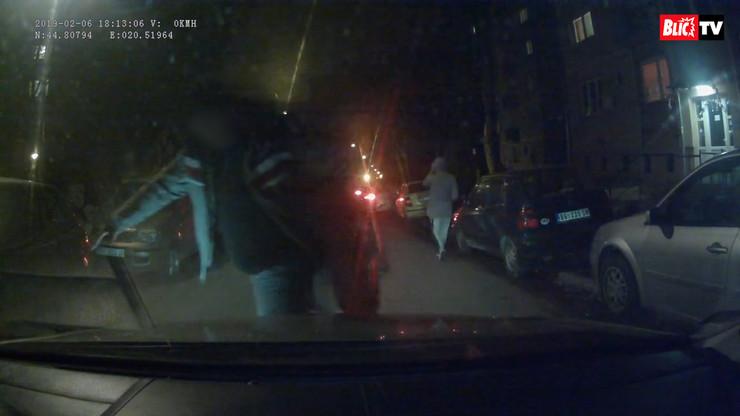 taksista karaburma blurovano