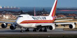 Samolot stanął w płomieniach na pasie startowym na brytyjskim lotnisku