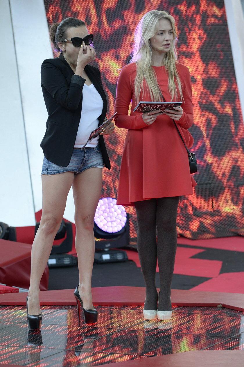 Anna Mucha i Barbara Kurdej-Szatan