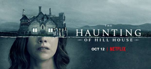 "Poster oficial pentru ""The Haunting of Hill House"""