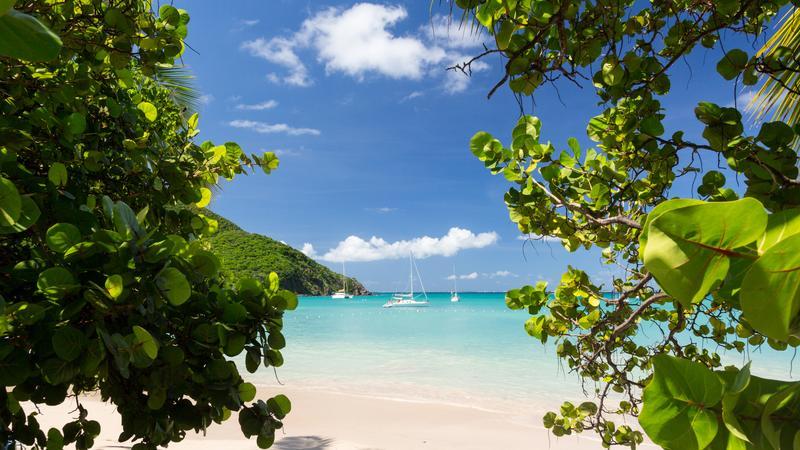 Glorious beach - Anse Marcel, Sint Maarten