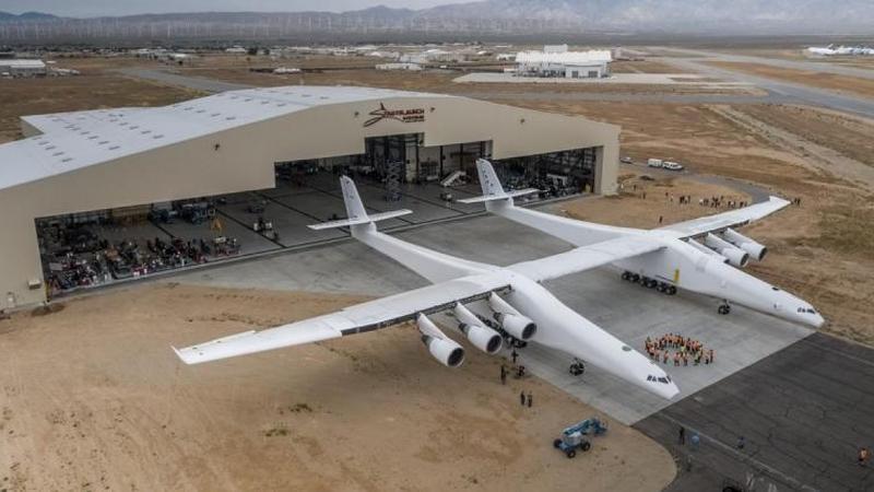 Testy silników największego samolotu zakończone sukcesem