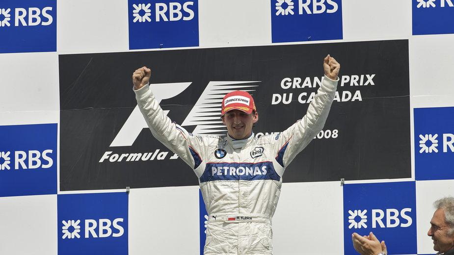 Robert Kubica po wygranej w GP Kanady