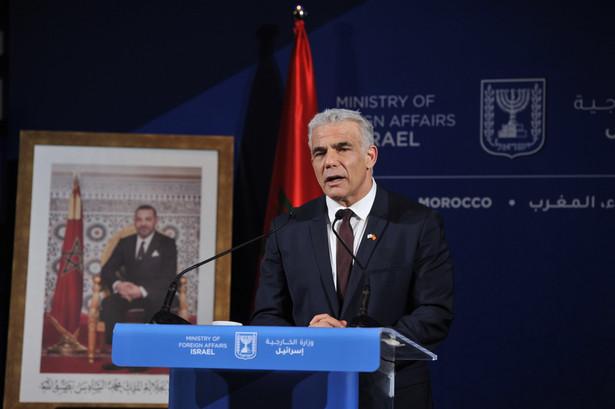 Szef MSZ Izraela Jair Lapid