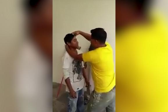 POPADALI OD SMEHA Prvi dan posla ovog radnika ostaće upamćen po ovoj nemilosrdnoj šali kolega (VIDEO)