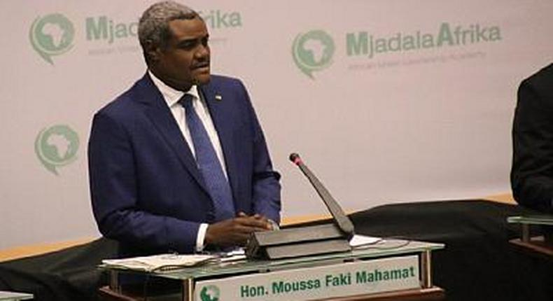 The Chairperson of the African Union Commission (AUC), Moussa Mahamat