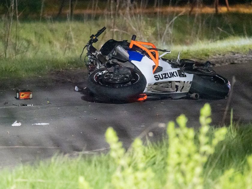 Tragedia w Aleksandrowie Łódzkim. Nie żyje dwóch motocyklistów.