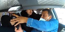 Agresywna pasażerka kasłała na kierowcę Ubera!