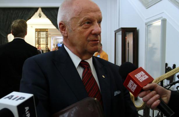 Stefan Niesiołowski, Fot . Slawomir Kaminski / Agencja Gazeta