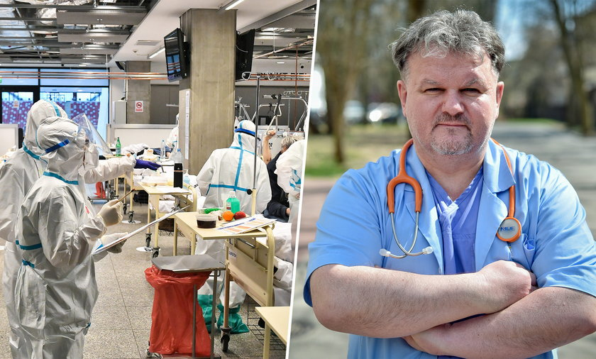 Dr Marek Posobkiewicz o pandemii COVID-19