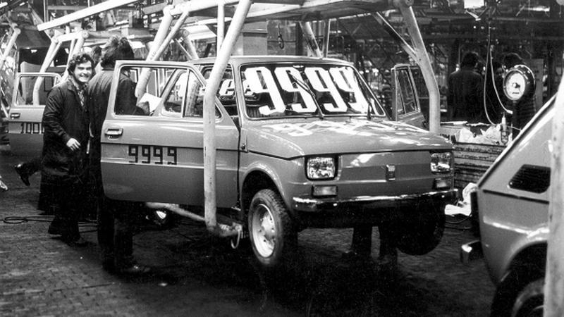 Fiat 126 - produkcja w Tychach