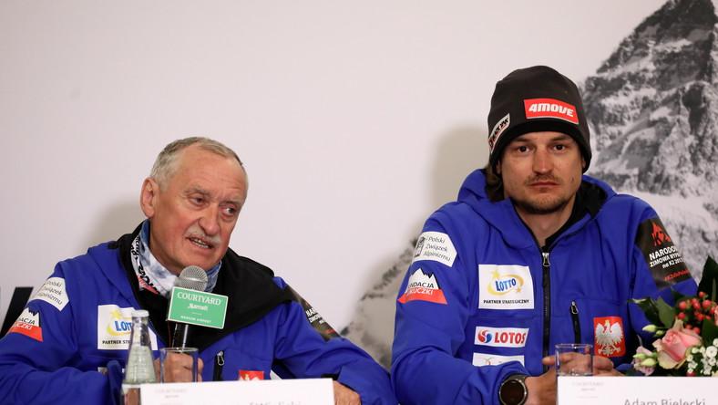 Krzysztof Wielicki (L) i Adam Bielecki (P)