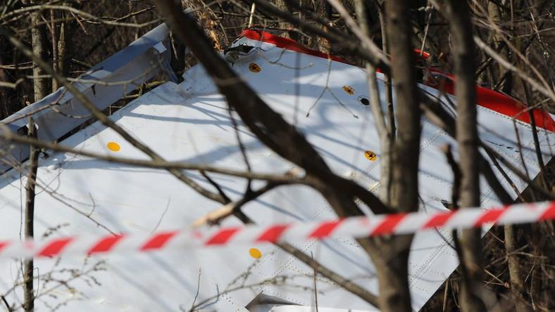 Zdjęcia z miejsca katastrofy rządowego TU-154