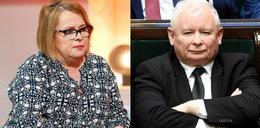 Ilona Łepkowska gani Kaczyńskiego: Popełnił Pan wielki błąd!