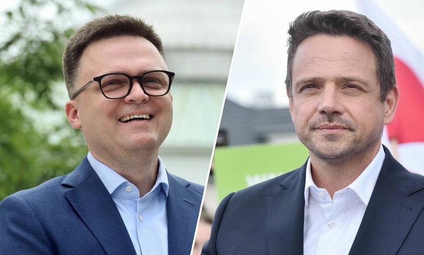Polacy uznali za najinteligentniejszych i nowoczesnych polityków Szymona Hołownię i Rafała Trzaskowskiego.