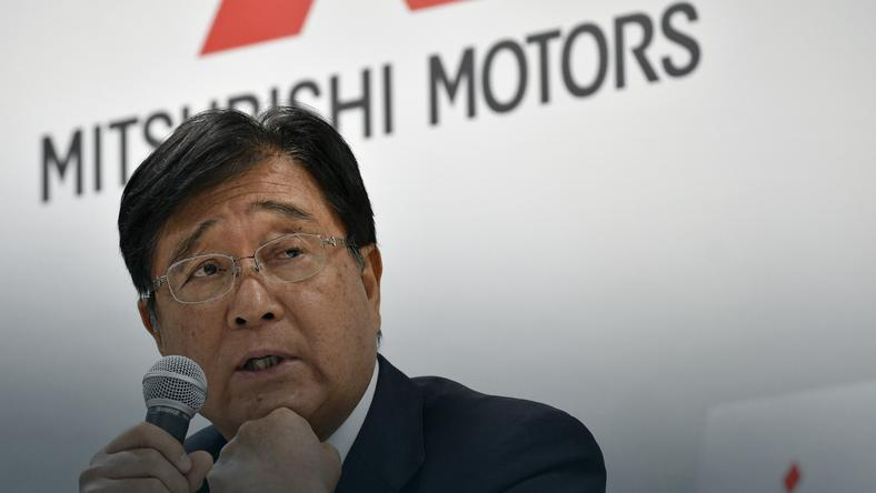 Dyrektor generalny Mitsubishi Motors Osamu Masuko