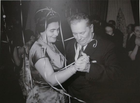 Jovanka Broz i Tito