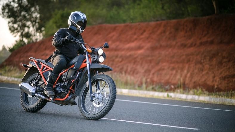 A ride atop the newly launched Kibo K250 motorcycle that promises more of everything