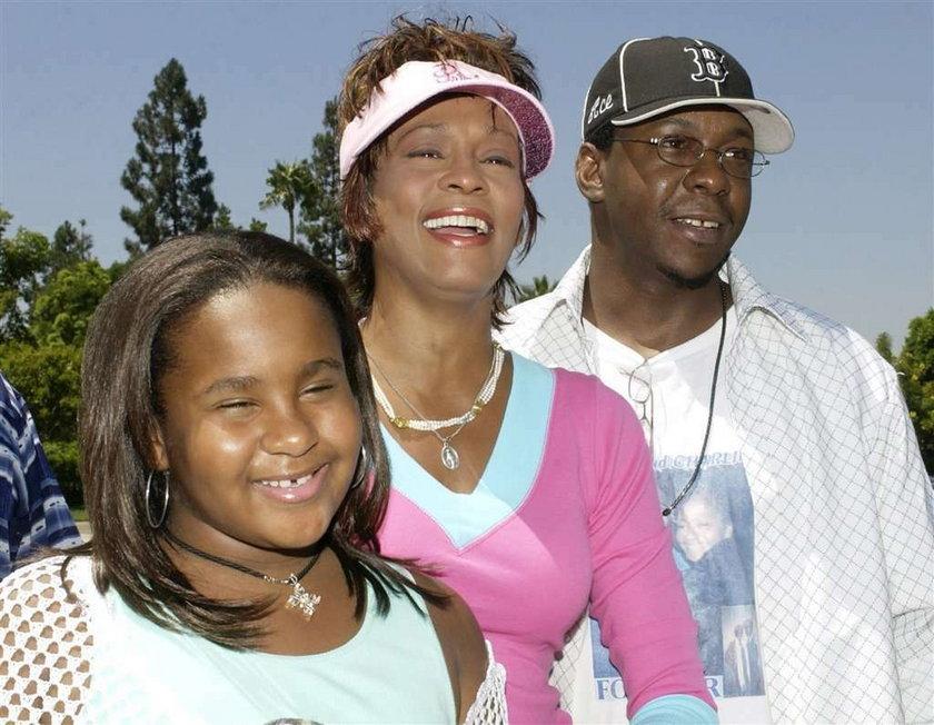 Córka Whitney idzie na odwyk - domaga się tego rodzina