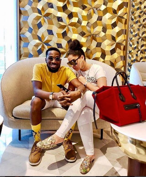 DBanj and hs wife,Lineo Didi Kilgrow are expecting a baby.  (Onobelo)