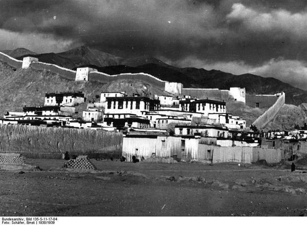 Klasztor Gyantse