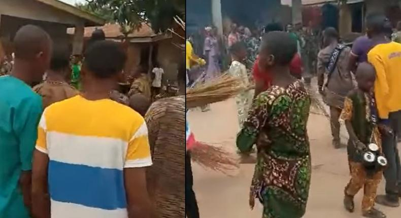 Bullet penetrates masquerade after spiritual powers failed