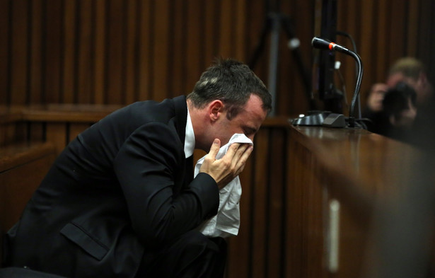 Proces Oskara Pistoriusa. Fot. EPA/THEMA HADEBE / POOL